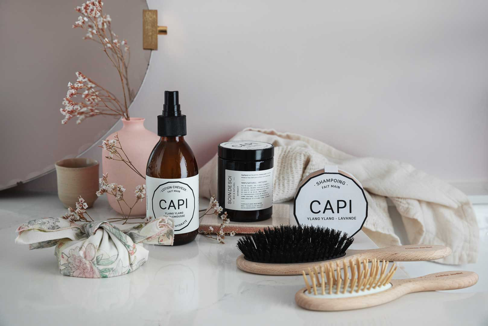 Gamme capillaire